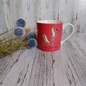 KATE SPADE   Well Heeled Pink Coffee Cup